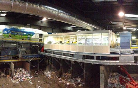ALFYMA Recycling | Modernisation d'un centre de tri